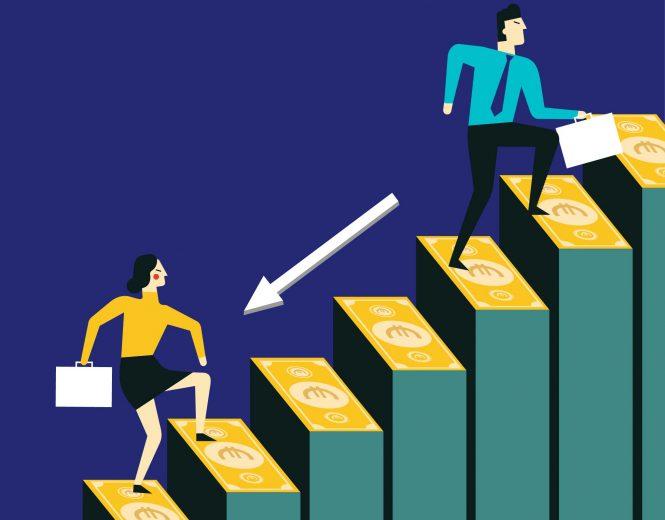 Moterys uždirba mažiau nei vyrai